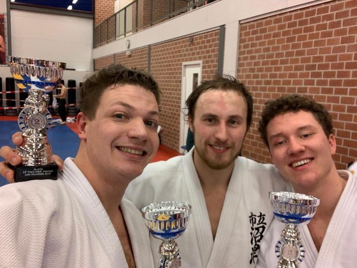 Hans, Menno en Bradley 3x 2e plaats