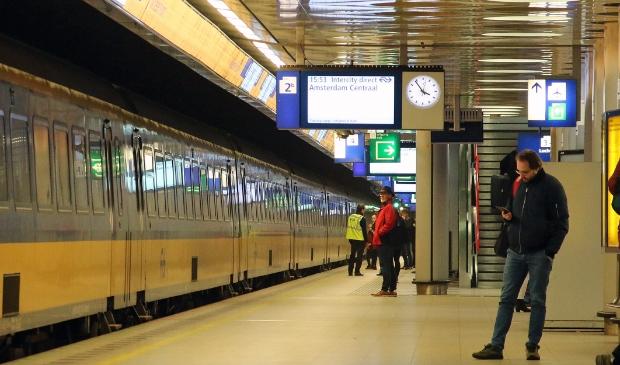 <p>Station Schiphol.</p>