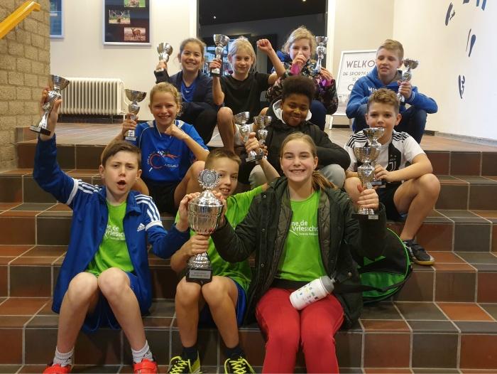 Winnaars SchoolBadmintonToernooi 2019