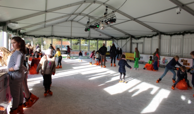 Schaatsbaan Bennebroek Winter Wonderland