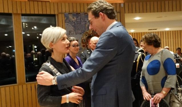 Felicitaties van oud-burgemeester Tjapko Poppens