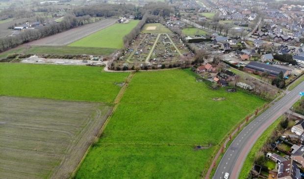 <p>De beoogde locatie voor de nieuwe wijk Putten-Zuid.</p>