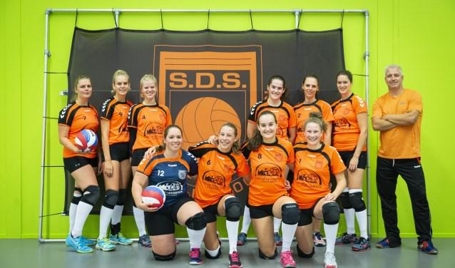 SDS won het thuisduel tegen Aetos eenvoudig met 4-0.
