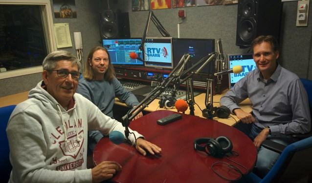 Momentopname in de studio van Radio Soest, een van de partners in de Streekomroep.