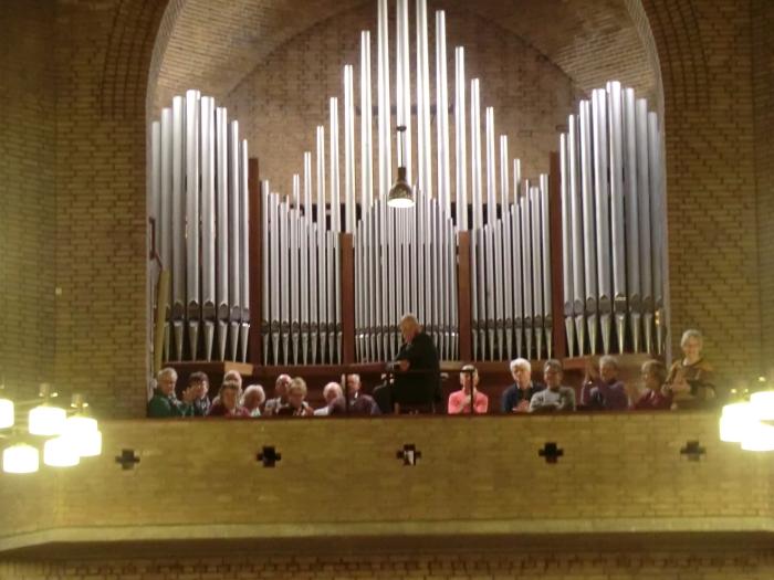 Het St. Martinuskoor gaf haar een groot applaus! GH © BDU media