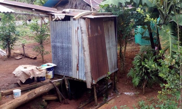 Voor veel mensen op het Indonesische platteland is een toilet niets meer dan een vieze latrine.