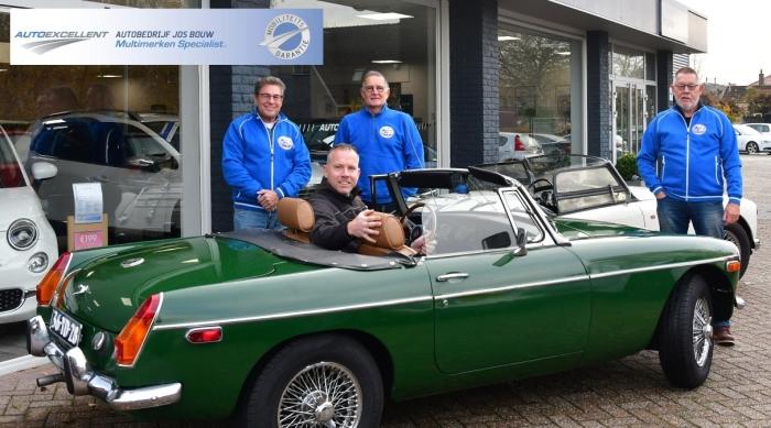 SponsorJos Bouw en 3 bestuursleden OCN Kees van den Heuvel © BDU Media