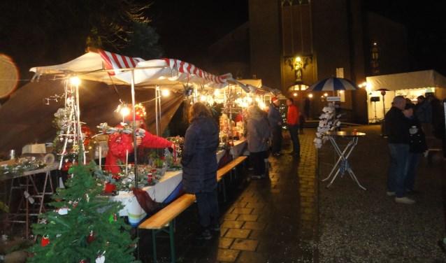 gezelligheid op de kerstmarkt