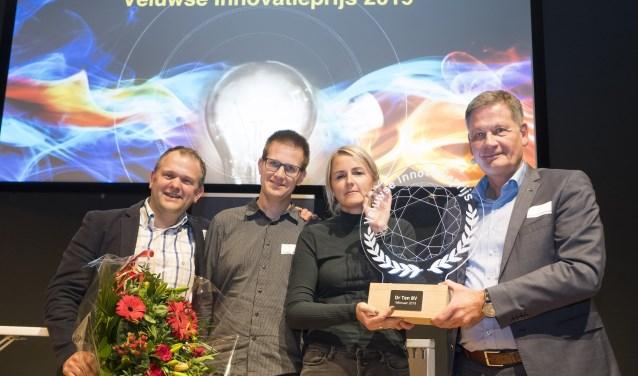 Ten B.V. uit Wezep is de winnaar van de Veluwse Innovatieprijs 2019.