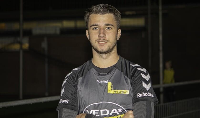 Georgy Theus scoorde eerste doelpunt voor Lunteren.
