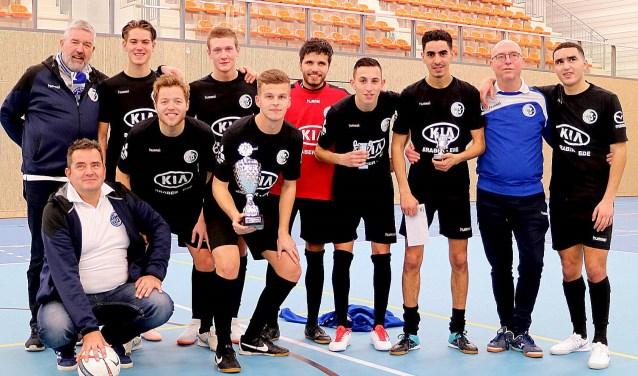 DTS Ede won het Ede Stad Zaalvoetbaltoernooi in 2018.