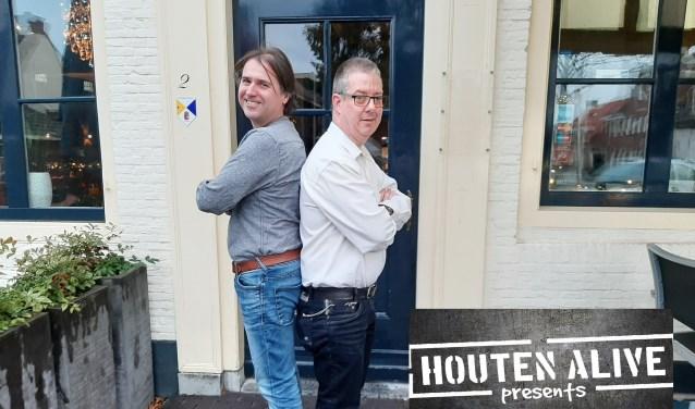 Hans van Marsbergen en John van Amerongen van Houten Alive