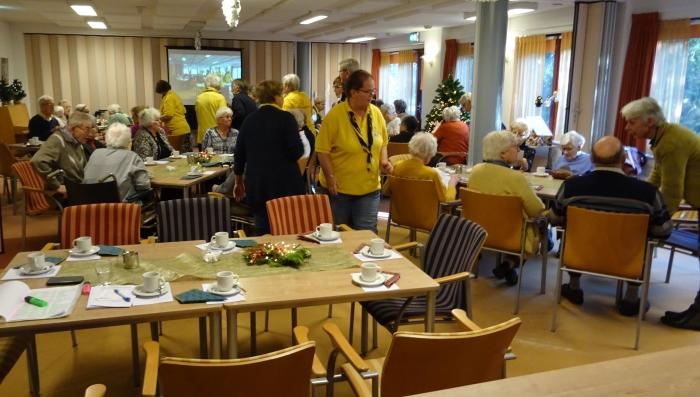 Oudjaarsviering Zonnebloem afdeling Maarn/Maarsbergen