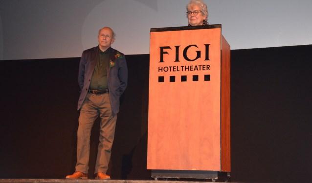 Filmmaker Kees Linnenbank en Flora de Vrijer (Zeister Historisch Genootschap)