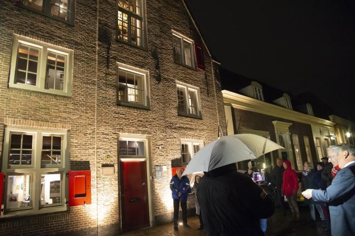 Hoofdsponsor Gerard van den Tweel zet Museum Nijkerk in de spotlights.