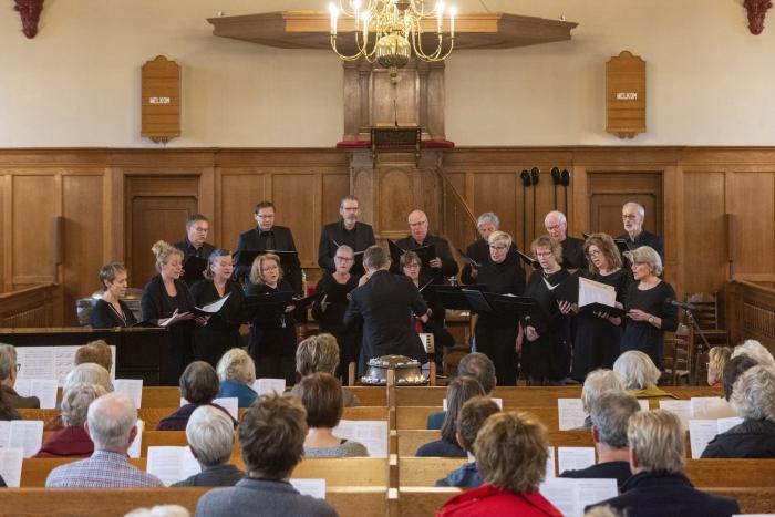 Kamerkoor Vocaliber Johan Bosgra  © BDU media