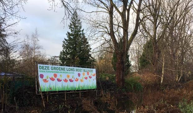 <p>Tuinpark Nieuw Vredelust wordt bedreigd.</p>