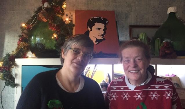 Marianne en Marjo halen de druk van de ketel, en niet alleen met kerstmis.