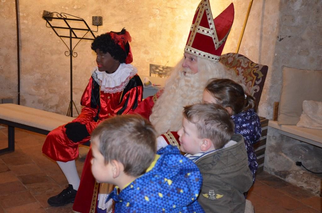 Op de foto met Sinterklaas Ali van Vemde © BDU media