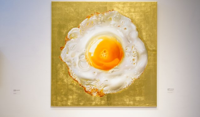 Het gebakken ei tot icoon verheven.