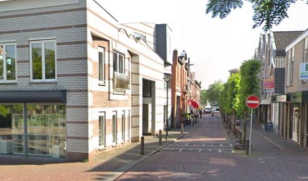 De Dorpsstraat in het Oude Dorp gezien vanaf Museum Van der Togt.