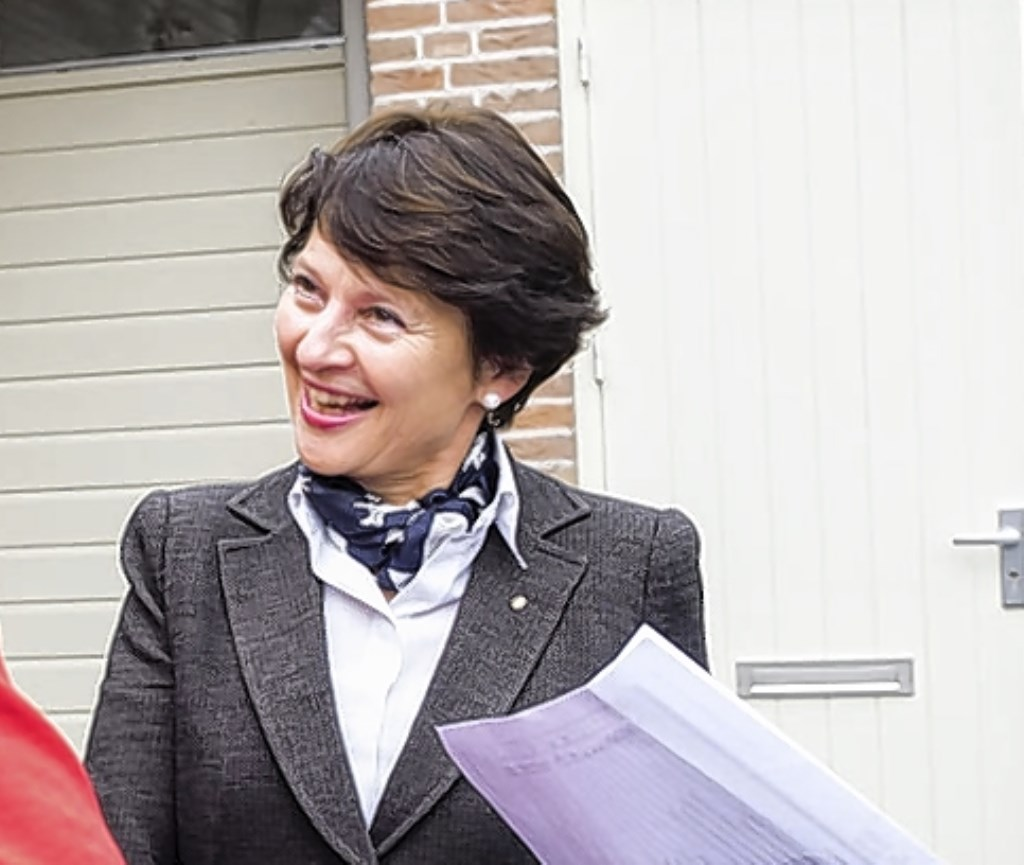 De kerstverlichting komt er op initiatief van voormalig burgemeester Loes van Ruijven