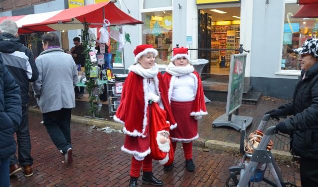 De kerstmarkt vorig jaar