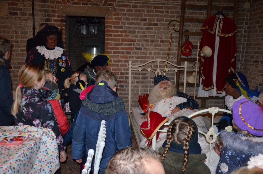 Sinterklaas wordt wakker Ali van Vemde © BDU media
