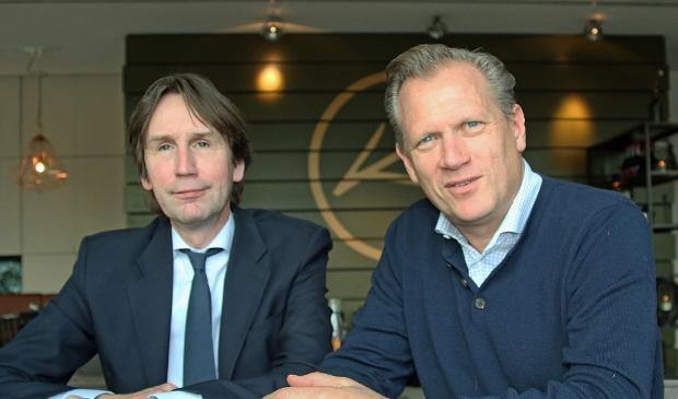 Herbert Raat (links) en Kees Noomen zijn zeer ontevreden over het optreden van Femke Halsema bij de demonstratie tegen racisme op de Dam.