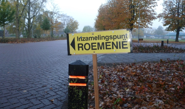 <p>Kledinginzameling voor Roemeni&euml; (archieffoto).</p>