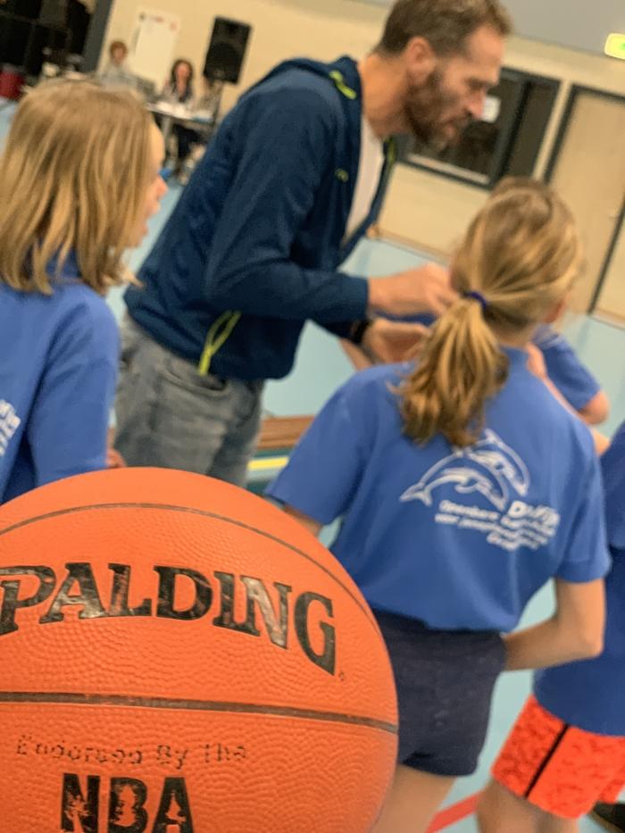 Schoolbasketbaltoernooi bradley Charbonneau © BDU