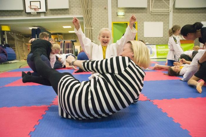 Kinderen sporten voortaan samen gratis tijdens sportinstuif Getsewoud