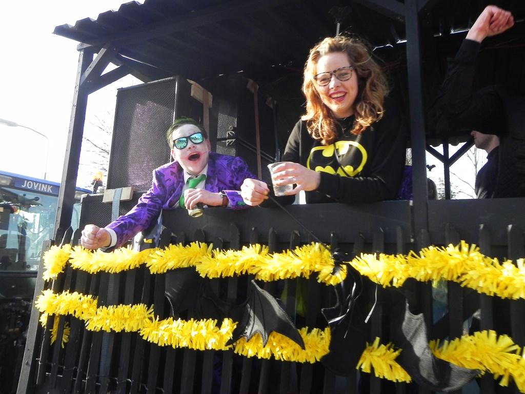 Badvrouw en de Joker hielden de sfeer er goed in! Richard Thoolen © BDU media