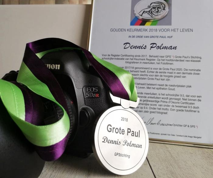 Grote Paul prijs Dennis Polman © BDU media