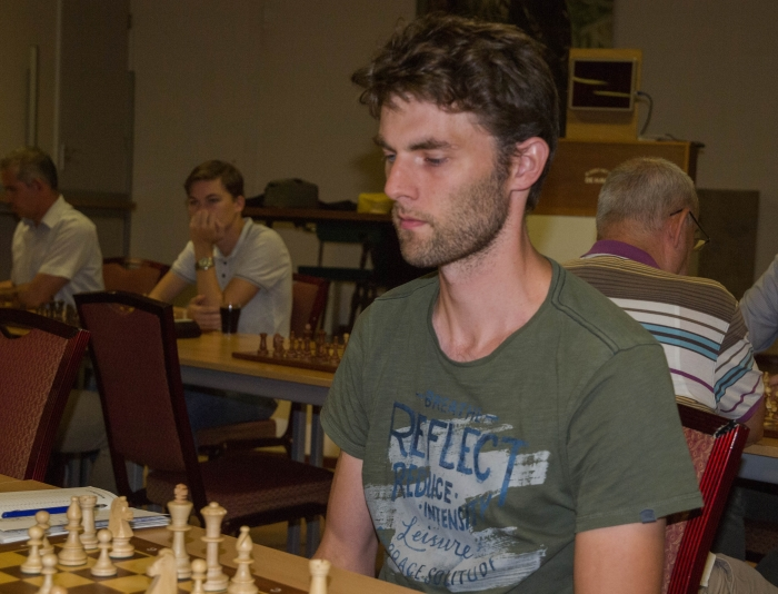 Titelverdediger Peter vd Bergh