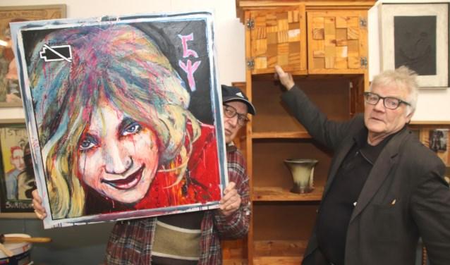 Piet Zwaanswijk en Jan Heijer hopen op een vervangende locatie voor hun museum.