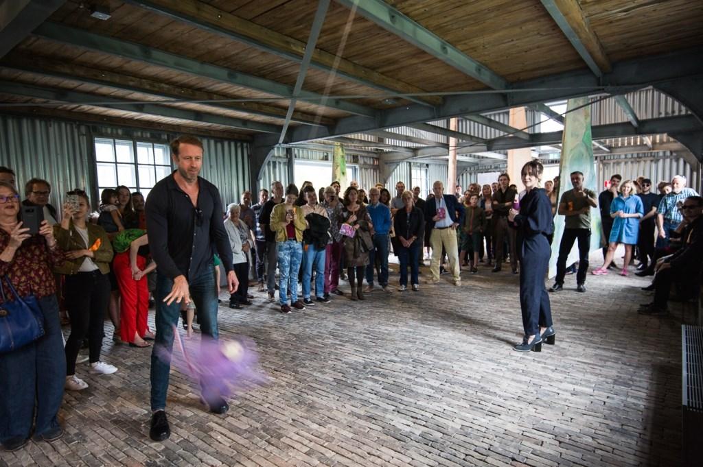 Opening tentoonstelling Charlott Weise en Serge Onnen, 2018,  Maarten Nauw © BDU media