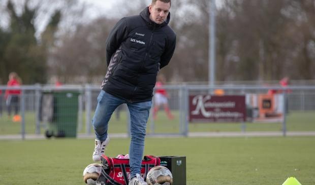 <p>Collin Oosterholt verwacht komend seizoen met SV Harskamp mee te doen in de vierde klasse.</p>