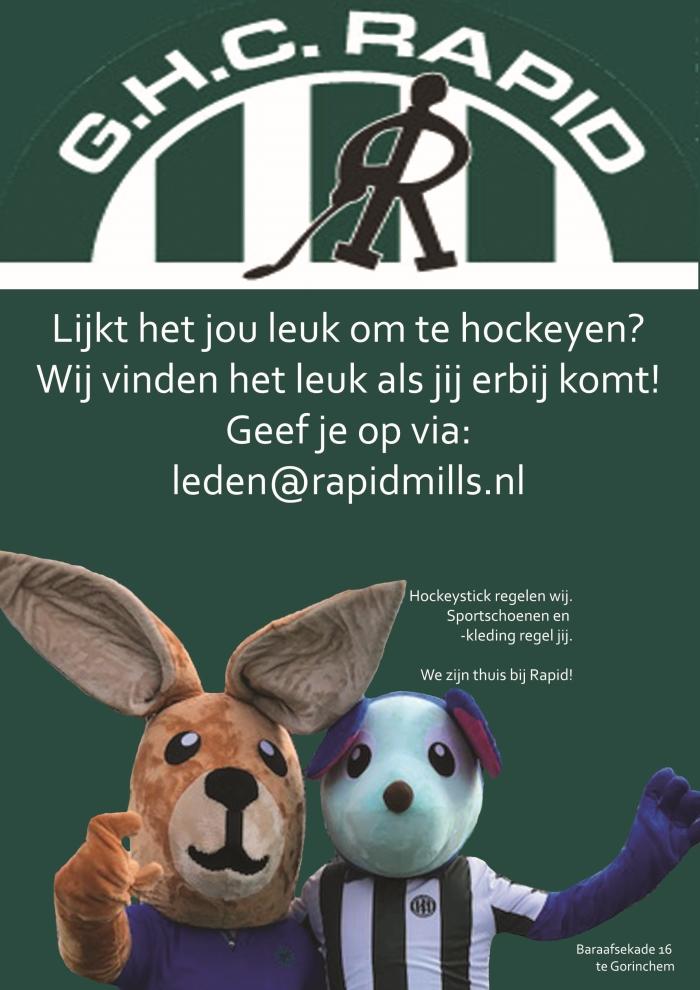 Uitnodiging Hockeyschool