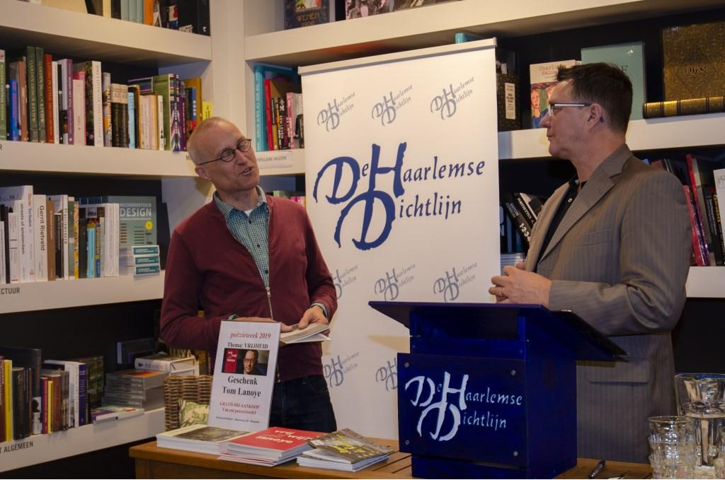 Peer van den Hoven (l) en Marten Janse, de initiatiefnemers van het project  Ellen Toledo © BDU media