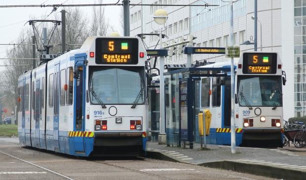 Tram 5 rijdt niet naar het Stadshart op 25 en 26 juli.