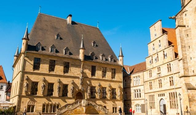 De prachtige binnenstad van Osnabrück.
