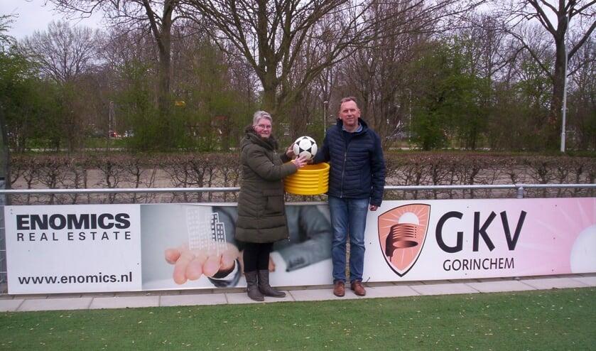 Simone Bouter en Piet de Waard, samen goed voor 108 jaar GKV geschiedenis.