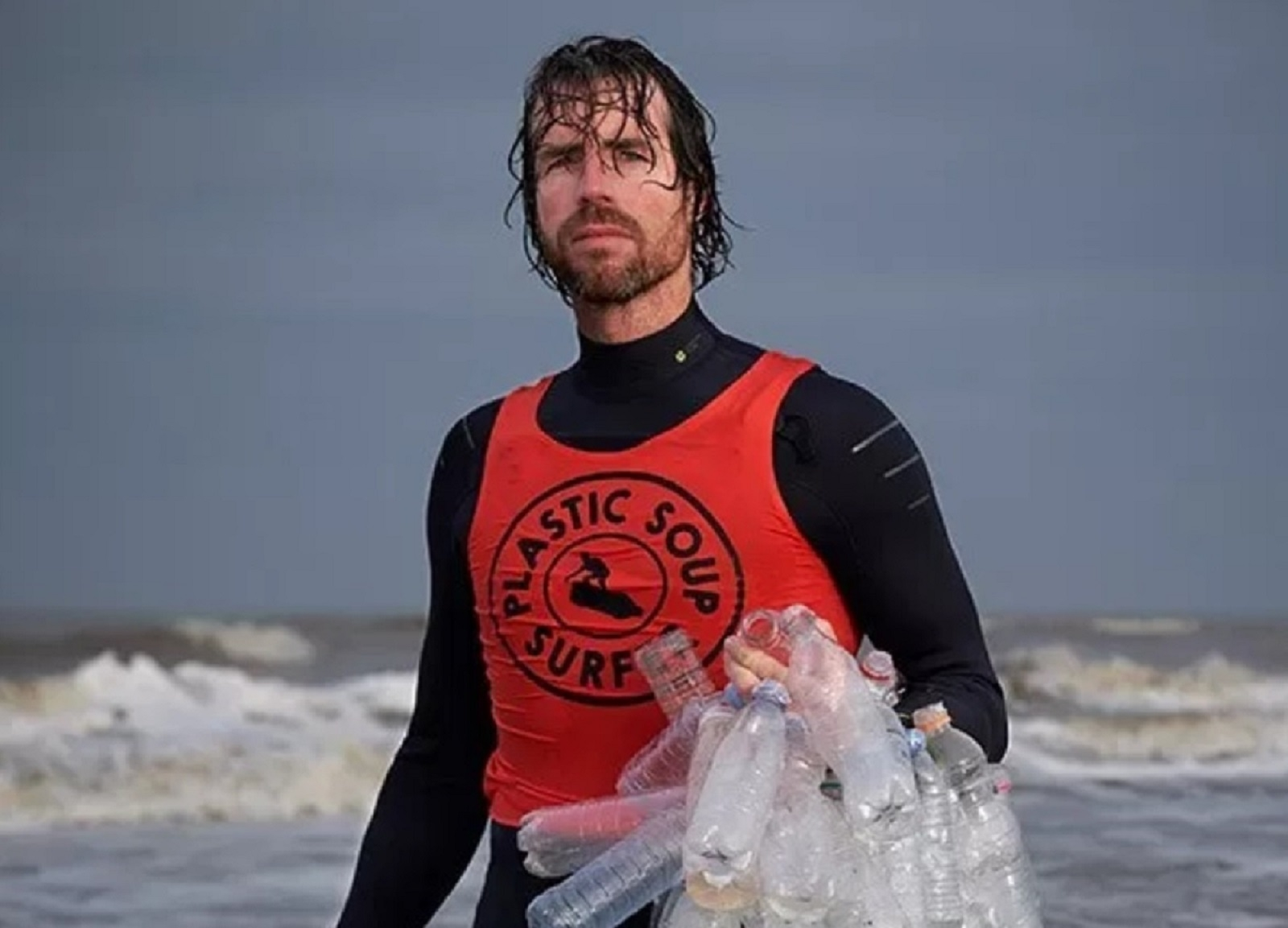 Merijn Tinga, de Plastic Soup Surfer