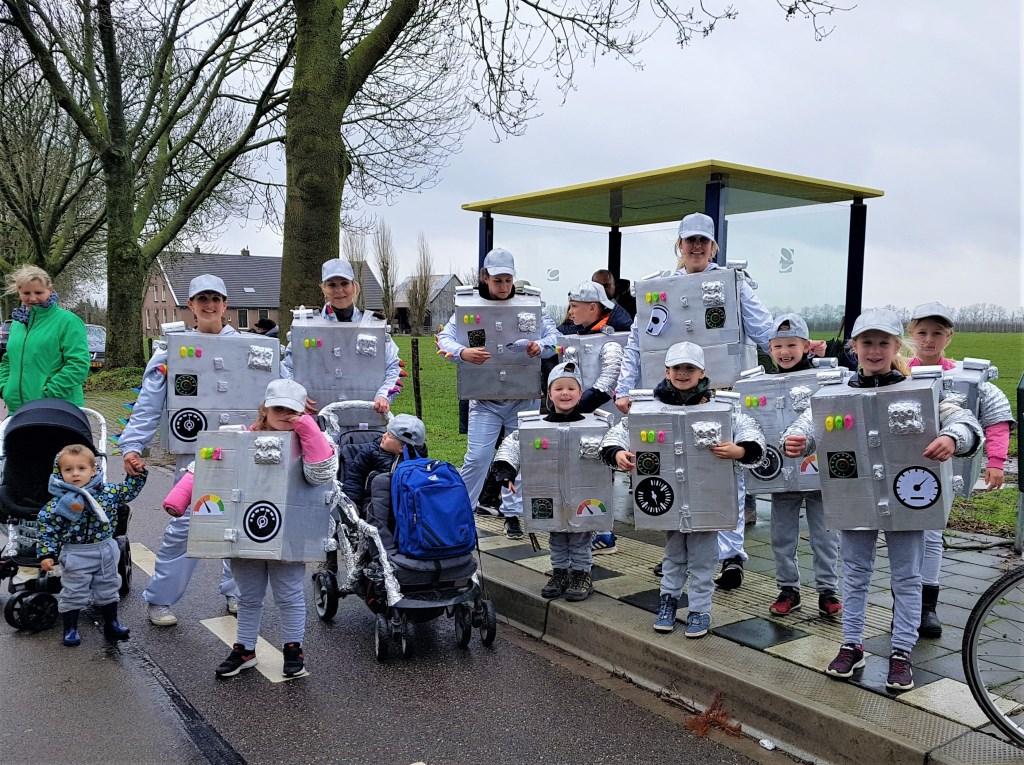 Deze robots hebben er zin in. Irene van Valen © BDU media