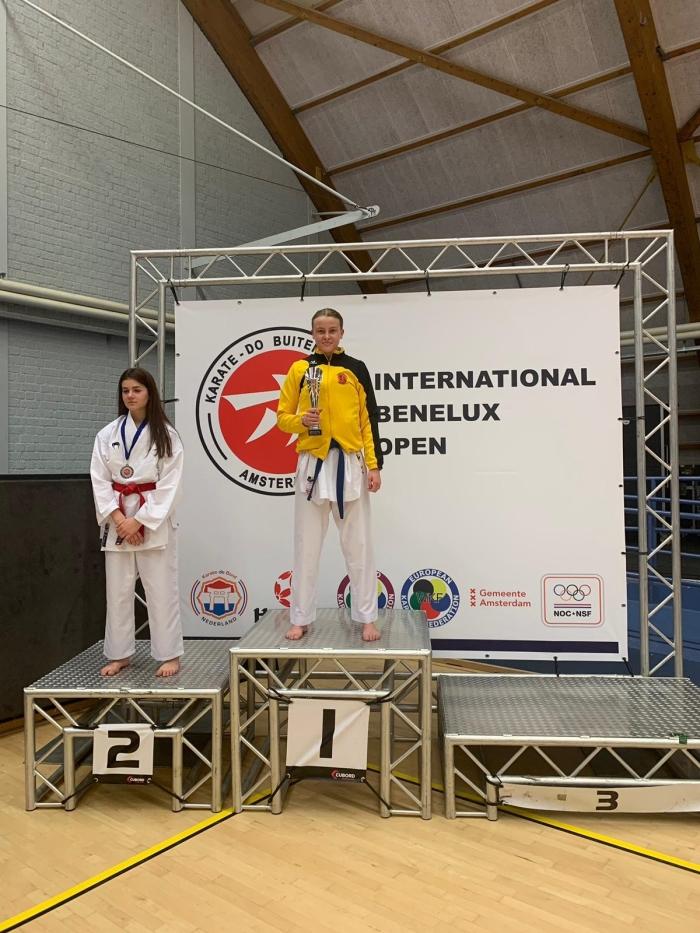 1e plaas Danniel Jonkers junioren - 59 kgt