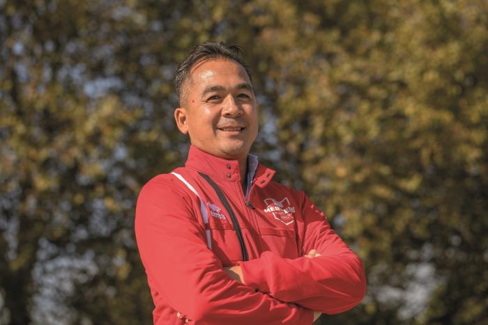 Raymond Mollet blijft hoofdtrainer bij Merwede/Multiplaat Bernadette Struijk © BDU media