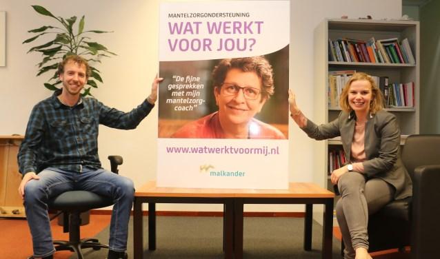 """Sociaal werkers bij Malkander: Jan Jong en Pascal van Doorm. ,,Er is veel te winnen bij organisaties onderling."""""""