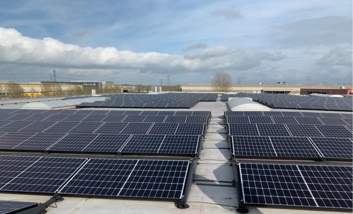 Zonnepanelen leveren een bijdrage aan de duurzaamheid.
