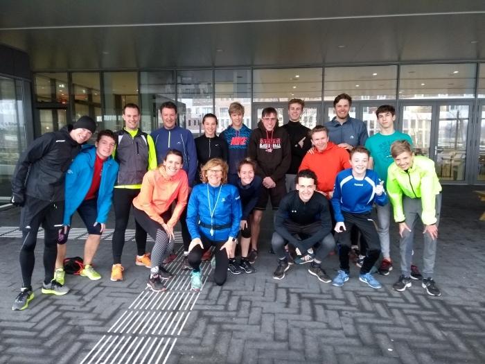 Team Griftland Holland4ALS dat 120 km gaat hardlopen Griftland College © BDU media